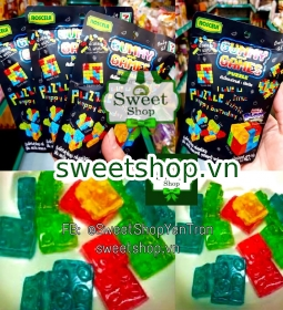 KẸO DẺO GUMMY AND GAMES PUZZLE THÁI LAN