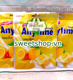 Kẹo Lotte Anytime Chanh Lotte